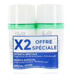 SVR - SPIRIAL Roll-on déodorant 50ml x2