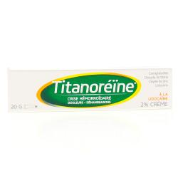 TITANOREINE LIDOCAINE 2% CR TUB20G