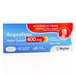 IBUPROFENE CO 400mg MYLAN Cpr Plq/12