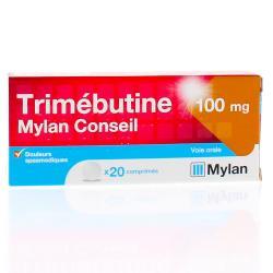 TRIMEBUTINE 100MG MYL CONS CPR 20