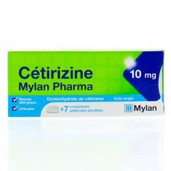 CETIRIZINE 10MG MYLAN PH CPR SEC7