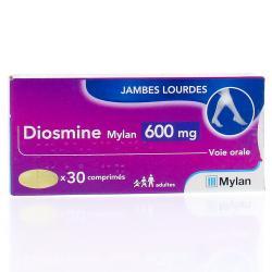 DIOSMINE 600MG MYLAN CPR 30