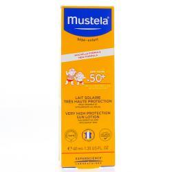 MUSTELA LAIT SOL TB40ML1