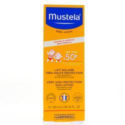 MUSTELA SOLAIRE SPF50+ Lait T/100ml