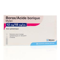 BORAX/AC.BORIQUE MYL SOL OPH 5ML20