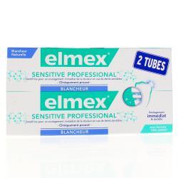 Sensitive Professional Blancheur - Lot de 2 tubes de 75 ml