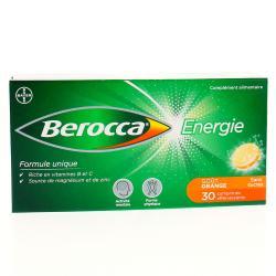 BEROCCA ENERGIE EFFERV Cpr eff orange B/30