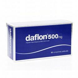 Daflon 500mg Boîte de 60 comprimés