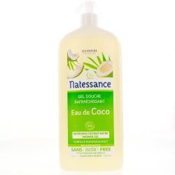 NATESSANCE Gel dche eau coco rafraîch Fl/1l