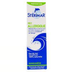 Manganèse Solution nasale pour nez sujet aux allergies - 100 ml