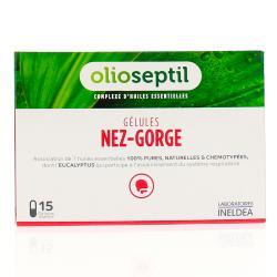Olioseptil nez gorge 15 gélules végétales