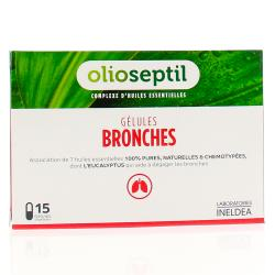 Olioseptil - Bronches - 15 gélules