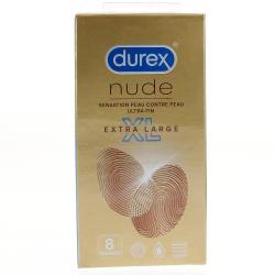 DUREX NUDE XL BTE 8