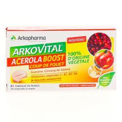 ARKOVITAL ACEROLA BOOST Cpr croq B/24