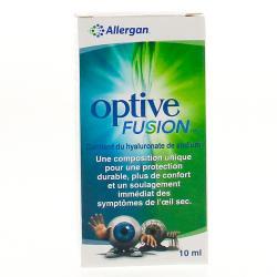 OPTIVE FUSION SOL OCULAIRE 10ML