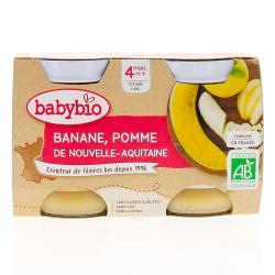 Mes Fruits Pomme Banane dès 4 mois 2 x 130g
