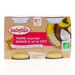 BABYBIO POT POMME/BANANE/COC