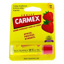 CARMEX SOIN LEVRE STICK FRAISE 10G