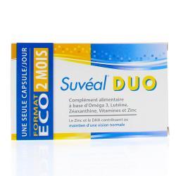 SUVÉAL Duo capsules vision 60 capsules